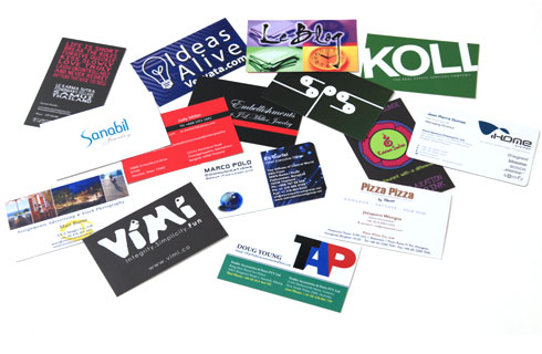 Bangkok business cards siam printing solutions reheart Image collections